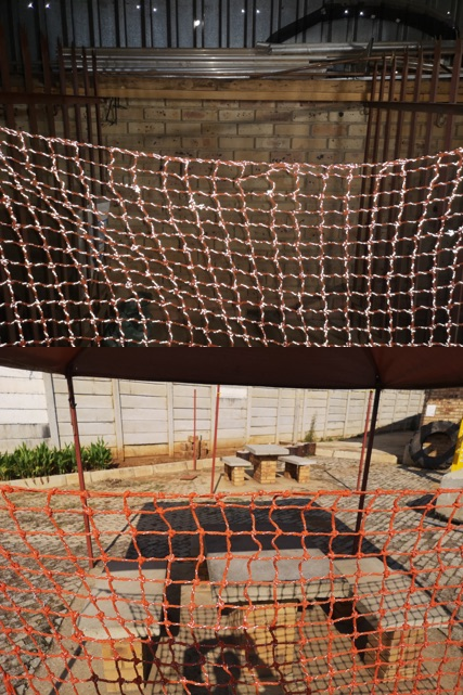 Custom Made Barrier Netting